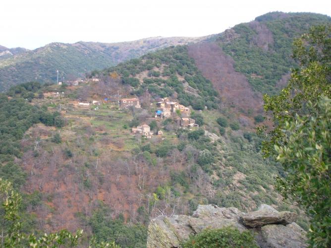 Le hameau de La Blacherette